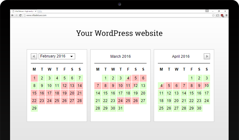 WP iCalendar Availability | iCal booking calendar plugin for WordPress